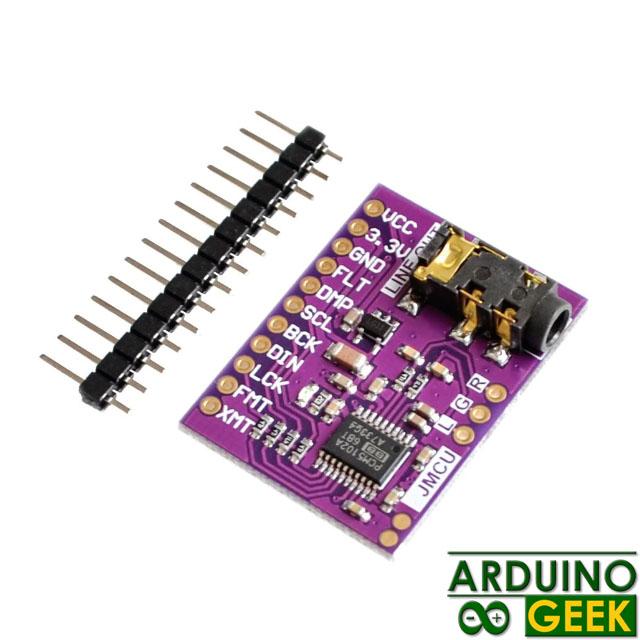 Цифрово-аналоговый преобразователь PCM5102 3.5mm Stereo Jack 24 Bits
