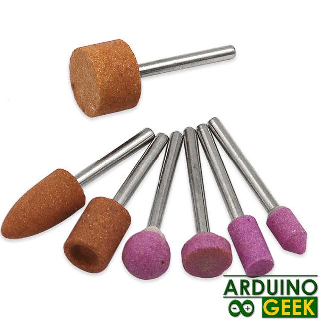 Набор шлифовальных насадок для минидрели (7шт)