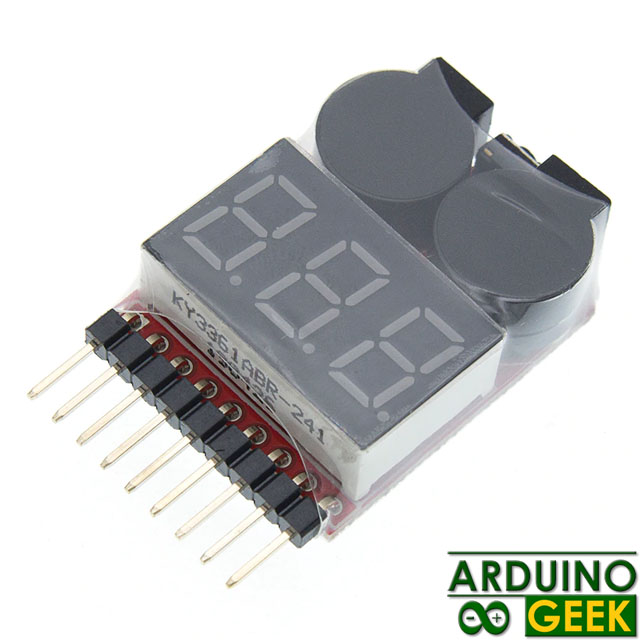 Сигнализатор-низкого-заряда-батареи-1-8S-Lipo-Li-ion-Fe