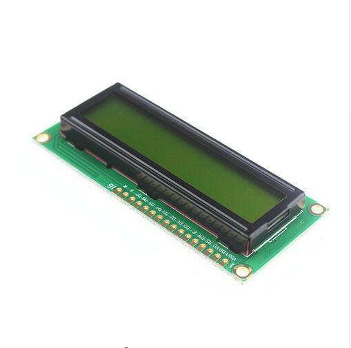 ЖК-Дисплей 1602 5 В Желтый Экран с подсветкой