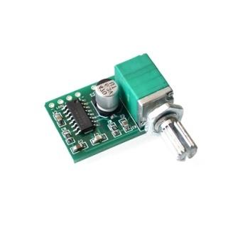Мини Аудио Усилитель PAM8403 с регулятором громкости