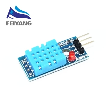 Модульный датчик температуры и влажности DHT11