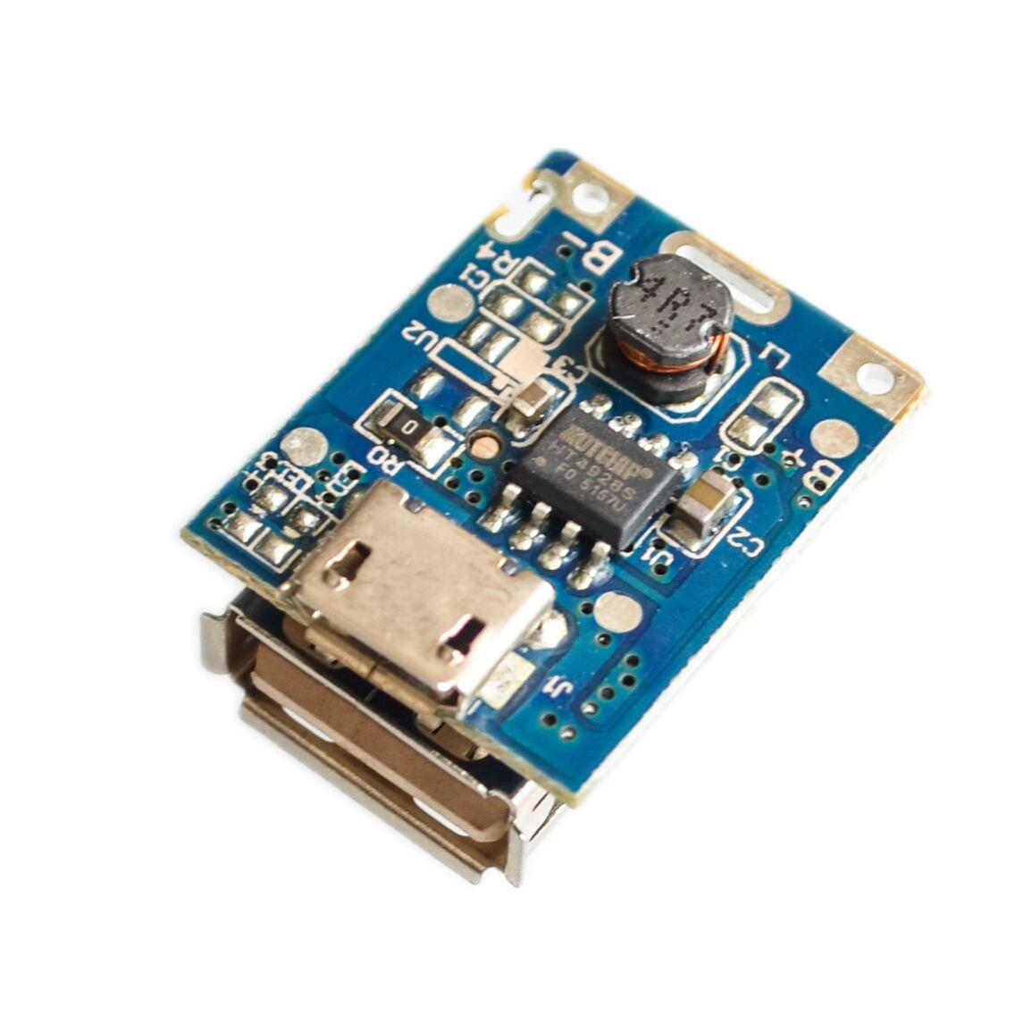 Модуль для павербанка 5 В Boost Step Up + Контроллер заряда с micro USB 134N3P 1