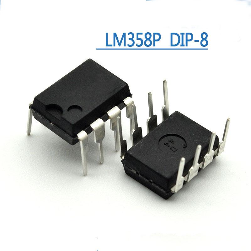 Операционный усилитель LM358P DIP8