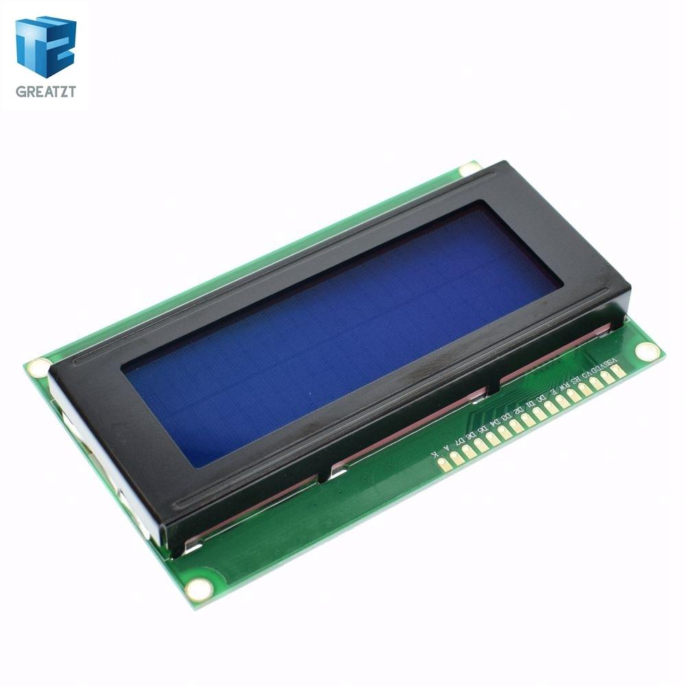 Дисплей синий LCD 2004 20X4 5V